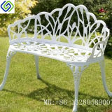High Quality Cast Aluminum Garden Metal Bench