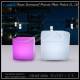 Plastic Cube LED Furniture for Hotel Garden Bar
