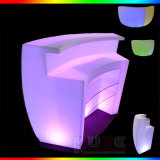 Plastic Deejay Booth Lighting Bar Glowing Bar Counter