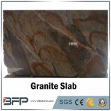 Natural Stone Rusty Red Valley Granite Slab for Background Wall