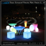 PE Material Rechargeable LED Light Furniture