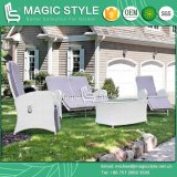 Wicker Relax Chair Rattan Relax Sofa Double Sofa Outdoor Furniture Garden Relax Chair Pneumatic Chair Patio Furniture (Magic Style)
