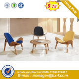 Metal Base Fabric Leisure Bar Stools Chairs Library Furniture (HX-SN8045)