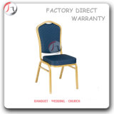 Metal Blue Fabric Cheap Price Catering Chair (BC-33)
