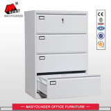 Office Use Legal and Letter Size File Storage 4 Drawers Lateral Steel Metal Filing Cabinet