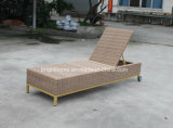 Outdoor Garden Patio Rattan Chaise Wicker Beach Lounge (BM-573)