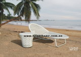 Sun Lounger Wicker Furniture/Man-Made Fibre Outdoor Furniture (BP-637)