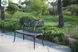 New Product China Supplier Garden Benches Metal Antique Outdoor Cast Aluminum Bench Chair