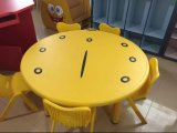 Adjustable Kids Table Chair Round Big Kids Table Chair Preschool Furniture