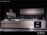 New Design of High Glossy Customized Lacquer Kitchen Cabinet
