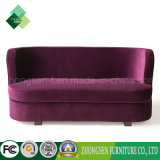 Living Room Sofa Bed Purple Fabric Sofa Set for Sale