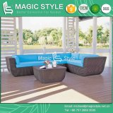 Garden Sofa Set with Cushion Rattan Corner Sofa Set (Magic Style)