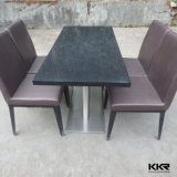 Environmental 1200X600mm Black Stone Coffee Tables