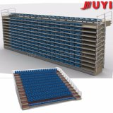 Jy-720s Factory Price Tip up Chair Plastic Seat Used Bleachers for Sale Folding Bleacher