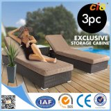 Guaranteed Quality Most Popular Rattan Beach Sun Lounger