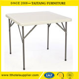 Outdoor Metal Leg Sqaure Folding Table Sale