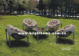 PE Rattan Wicker Sofa Set Outdoor Garden Furniture Bg-P39A