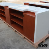 Stone Desk Modern Customized Solid Surface Reception Desk