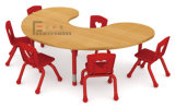 U-Shape Kids Party Tables and Chairs, Children Metal Table and Chairs