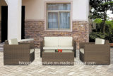New Design PE Rattan Outdoor Patio Beach Sofa Set Furniture