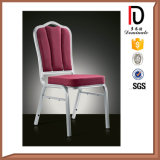 Curved Back Discount Aluminium Stacking Chair for Banquet Party (BR-A110)