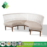 New Design Stainless Steel Armrest Fabric Sofa for Living Room