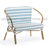 Aluminum Tube Double Seat Chair with PE Rattan (SP-OC361)