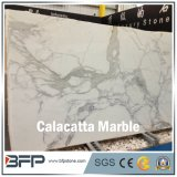 High Eend Calacatta Marble Slab for Bathroom Tile and Countertop