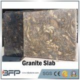 High End Natural Stone Golden Granite Slab for Background Wall