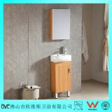 Small Size Floor Mounted Multi-Layer Bathroom Wood Vanity