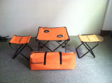 Folding Table, Outdoor Table, Camping Table, Beach Table and Stool.