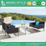 Outdoor Textile Sofa Set Modern Textile Sofa with Cushion Aluminum Sofa with Textile Garden Sling Sofa Set Hotel Sling 2-Seat Sofa Club Textile Chair