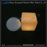 LLDPE Material Rotational Moulding Plastic LED Furniture with BV