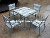 Plastic Wood Furniture-Dining Chair and Table (BP-390)
