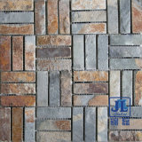 Nature Flooring Rusty Marble Stone Mosaic Tile Culture Slate