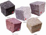 Natural Stone / Granite Cubes or Paving Stone in Garden Series