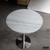 Kkr Modern Round Coffee Table, Solid Surface Dining Table (180228)