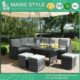 Rattan Sofa Set Sofa Set Wicker Sofa Patio Combination Sofa Hotel Project Leisure Sofa (Magic Style)