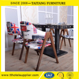 Restaurant Industria Wood Cafe Table and Chair