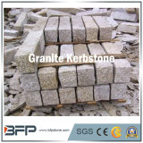 Bfp Stone Granite Yellow Kerbstone for Landscape or Garden