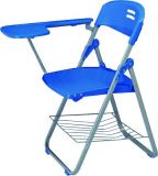 Cheap Foldable Plastic Training Chair, Writing Table/ Pad/ Tablet Chairs