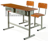 Economic Student Double Tables and Chairs College Furniture