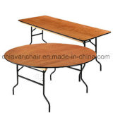 Plywood Banquet Round Folding Tables