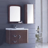 Modern Hotel Bathroom Solid Wood Bathroom Cabinet (ADS-652)