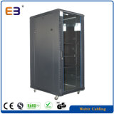Vertical Standing Networkswitch Cabinet with Glass Door