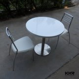High Glossy Anti-Scratch White Round Small Coffee Table (180104)