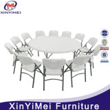 Plastic Round Banquet Table with 10 Seater