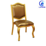 Wholesale Metal Restaurant Furniture Wood Like Dining Chair