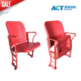 New Arrival Floor Mounting Plastic Tip up Chair for Stadium with Alumium Leg