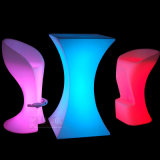Party Light Furniture LED Light Furniture Outdoor Table and Chairs
